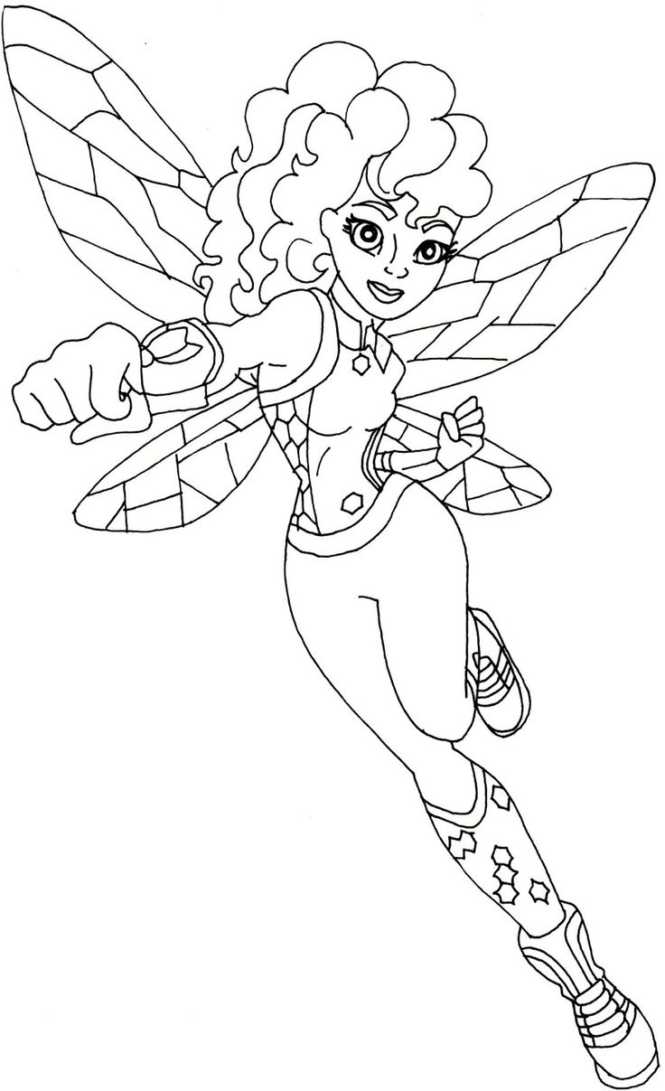 free dc hero coloring pages - photo#47