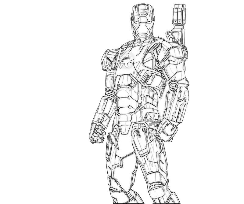Iron patriot 39 s profile for Iron patriot coloring pages